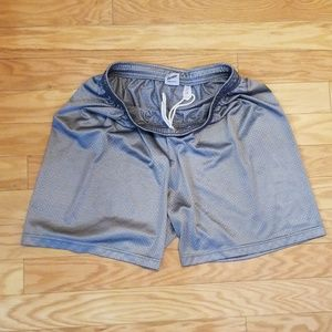 GRAY FRANKLIN ATHLETIC SHORTS